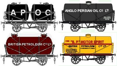 Sketch showing the APOC and early PB liveries