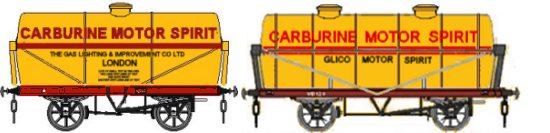 Carburine tanks