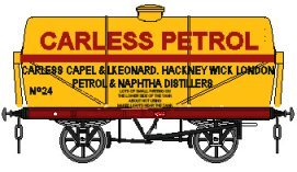 Carless 'Petrol' branding