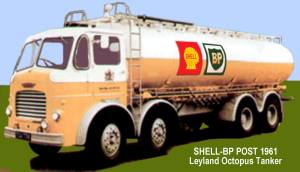 Shell-BP lorry in early 1960s