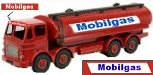 Mobilgas lorry in 1950s livery