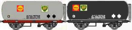 Shell-BP tanks in post war livery