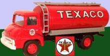 Texaco tanker in 1950s livery